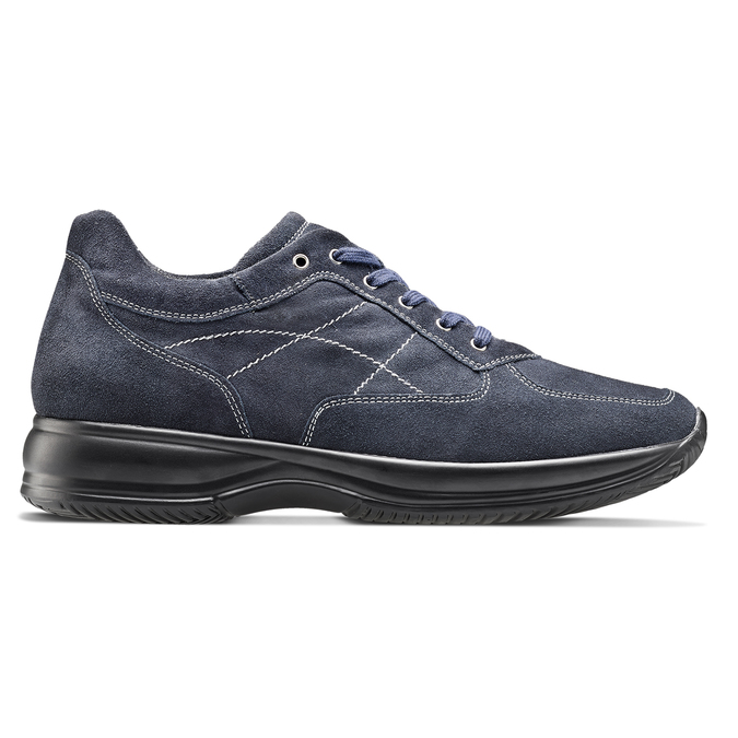 Men's shoes bata, Violet, 843-9315 - 26