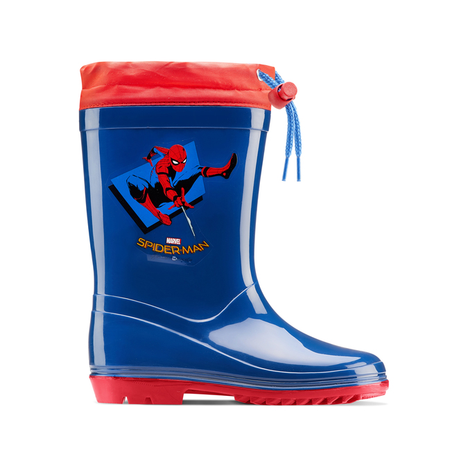 Bottes de pluie Spiderman spiderman, Bleu, 392-9190 - 26