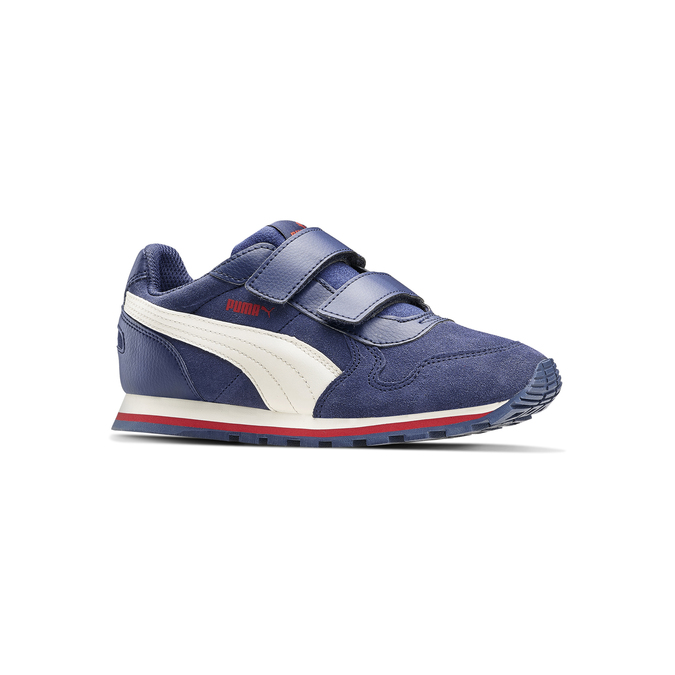 Childrens shoes puma, Violet, 303-9182 - 13