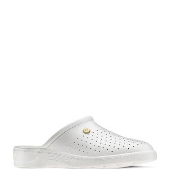 Chaussure d'intérieur pour homme bata, Blanc, 874-1803 - 13