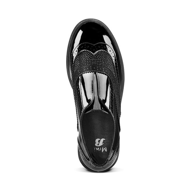 Childrens shoes mini-b, Noir, 321-6201 - 15