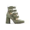Women's shoes bata, Vert, 723-7984 - 13
