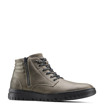 Men's shoes bata, Gris, 894-2719 - 13