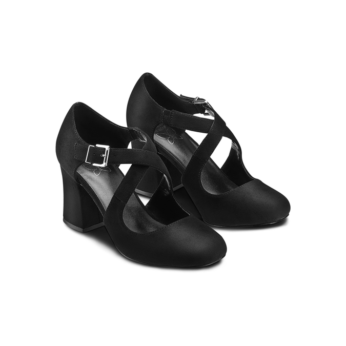 Women's shoes insolia, Noir, 729-6975 - 16
