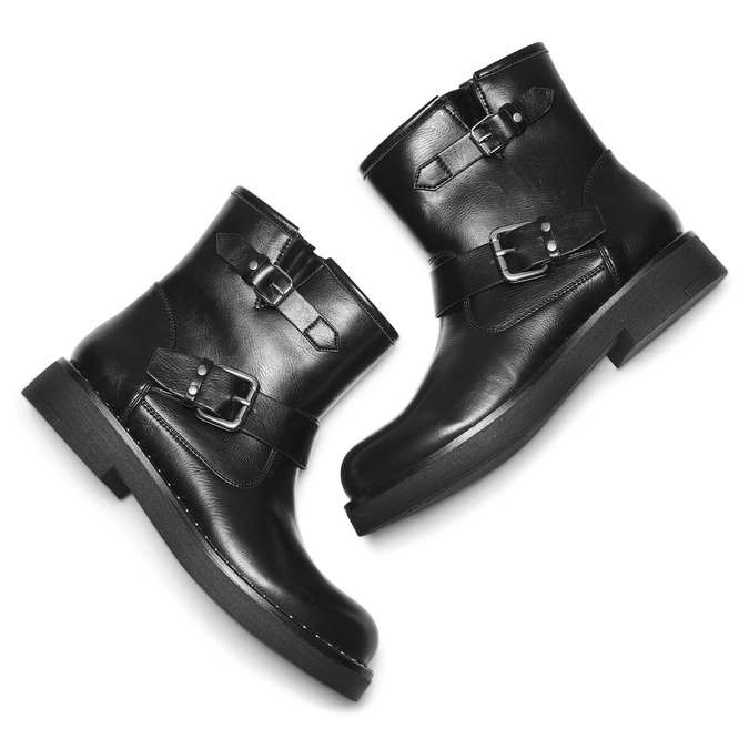 BATA Chaussures Femme bata, Noir, 591-6143 - 19