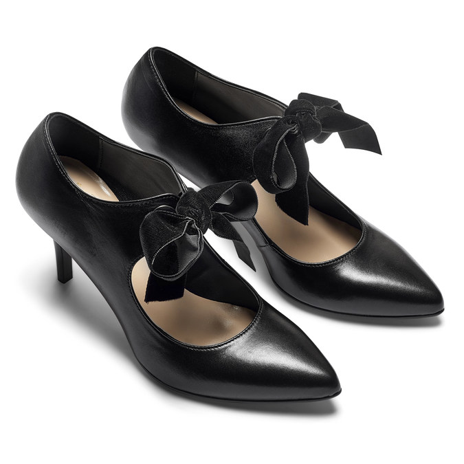 Women's shoes insolia, Noir, 724-6983 - 19