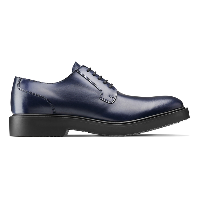 Men's shoes bata, Bleu, 824-9157 - 26