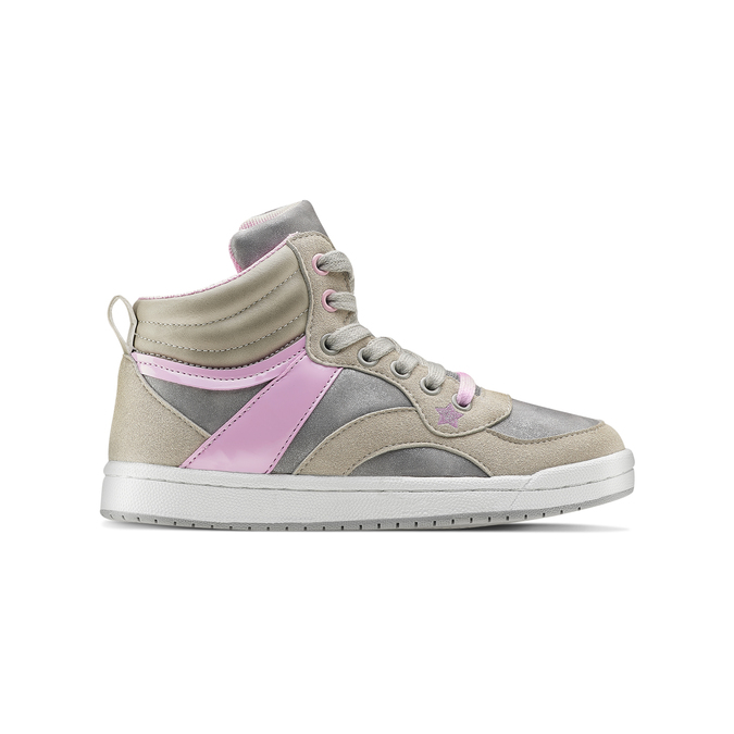 Childrens shoes mini-b, Gris, 321-2292 - 26