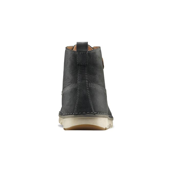 Chaussures lacées en cuir weinbrenner, Bleu, 896-9340 - 16