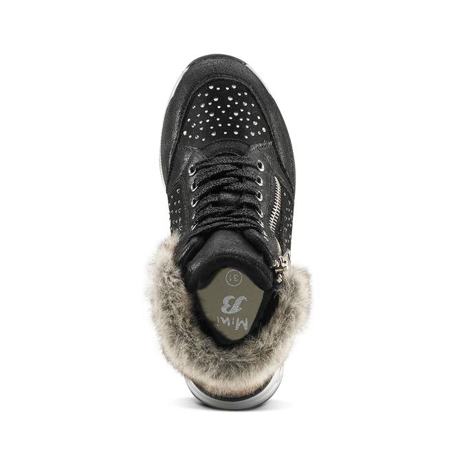 Childrens shoes mini-b, Noir, 329-6287 - 15