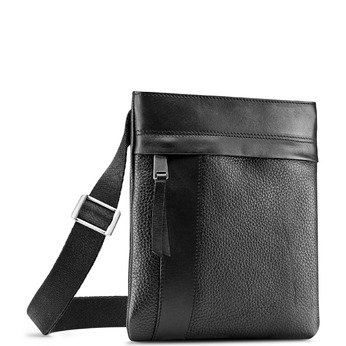 Cross body en cuir bata, Noir, 964-6131 - 13