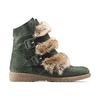 Women's shoes bata, Vert, 593-7442 - 26