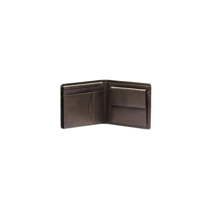 Portefeuille en cuir pour homme bata, Brun, 944-4124 - 16