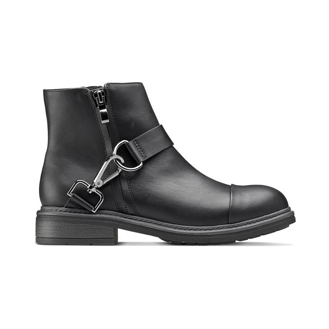 Women's shoes bata, Noir, 591-6155 - 26
