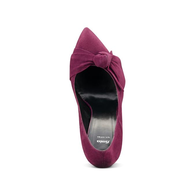 Women's shoes bata, Rouge, 723-5981 - 15