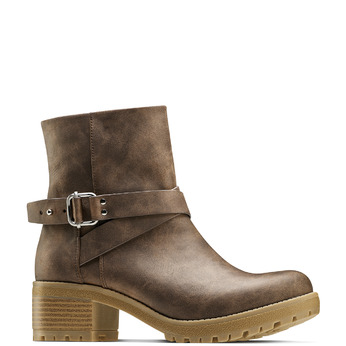 Women's shoes bata, Brun, 691-4451 - 13
