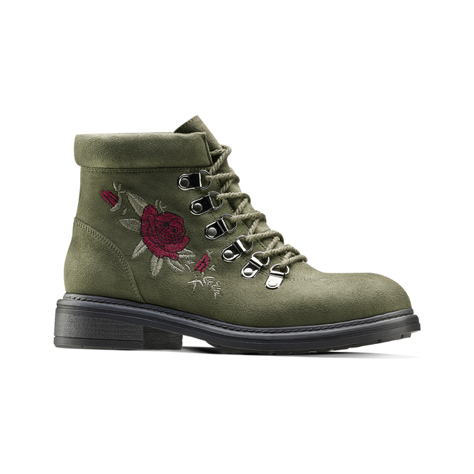 BATA Chaussures Femme bata, Vert, 599-7183 - 13