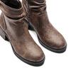 Women's shoes bata, Brun, 691-4408 - 17