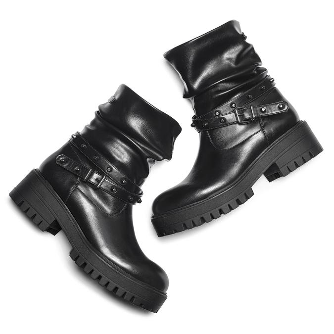 BATA Chaussures Femme bata, Noir, 691-6433 - 19