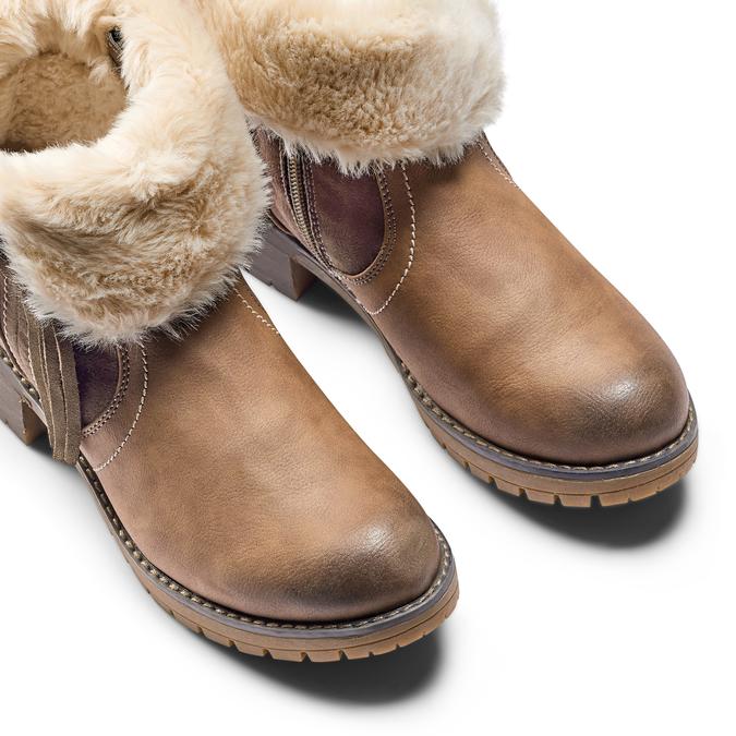 Women's shoes bata, Gris, 691-2429 - 15
