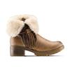 Women's shoes bata, Gris, 691-2429 - 26