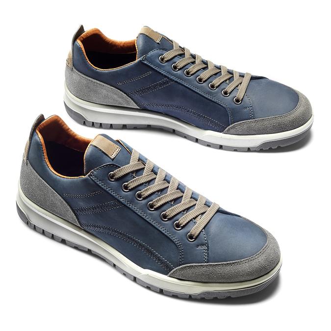 Men's shoes bata, Violet, 846-9105 - 19