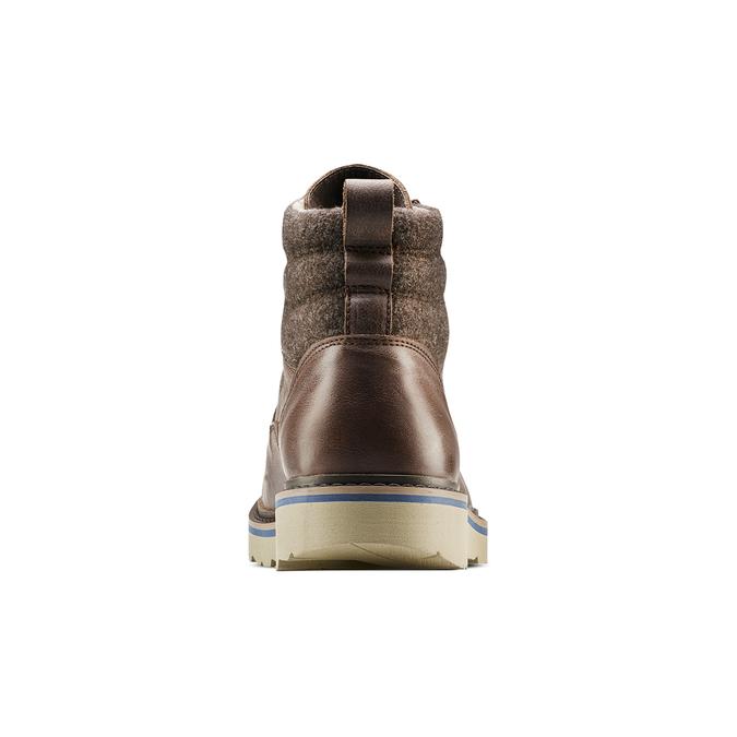Men's shoes bata, Brun, 894-4731 - 16