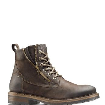 Men's shoes bata, Brun, 893-4137 - 13