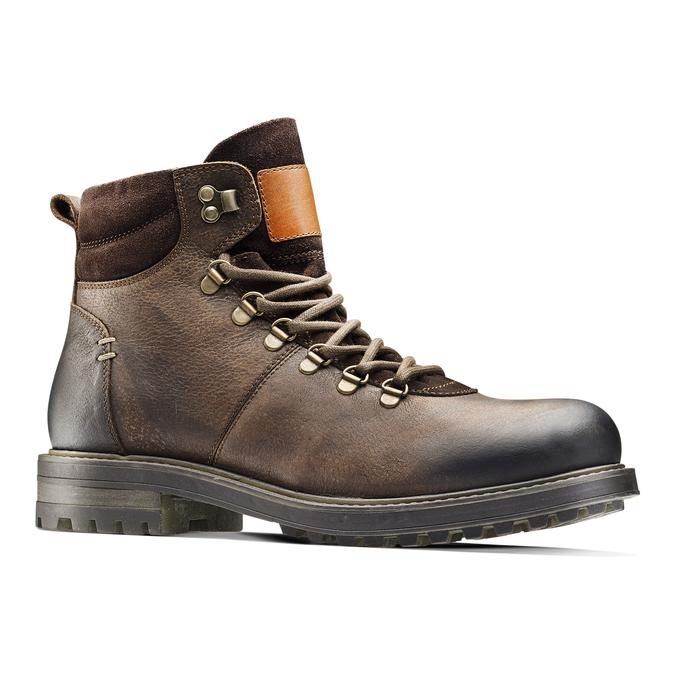 Men's shoes bata, Brun, 894-4136 - 13
