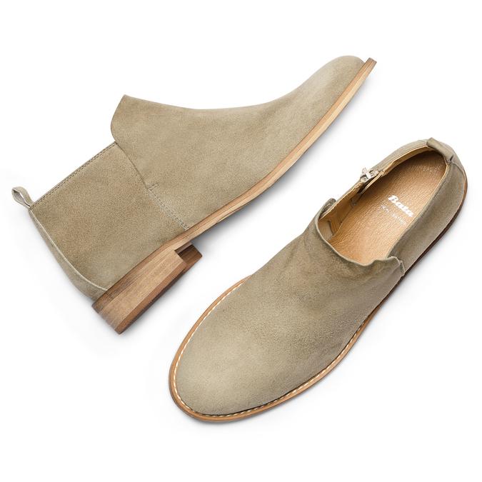 Women's shoes bata, Vert, 593-7703 - 26