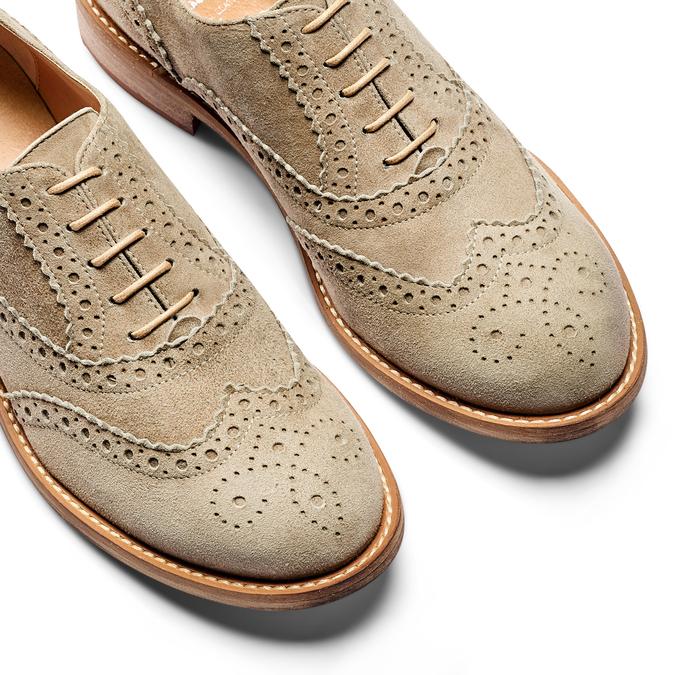 Women's shoes bata, Vert, 523-7482 - 26