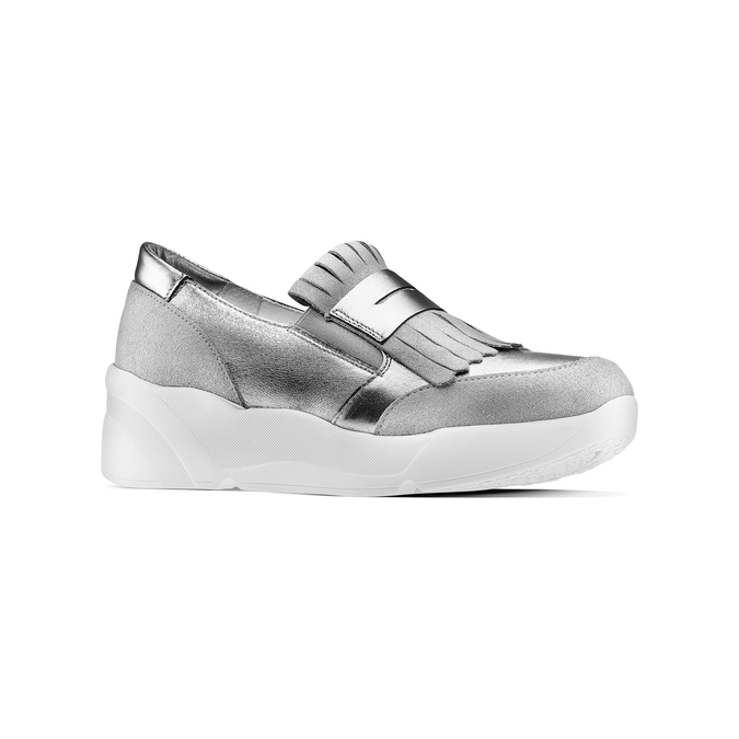 Women's shoes bata, Gris, 614-2131 - 13