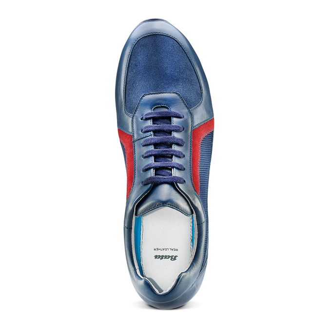 Men's shoes bata, Violet, 844-9142 - 17