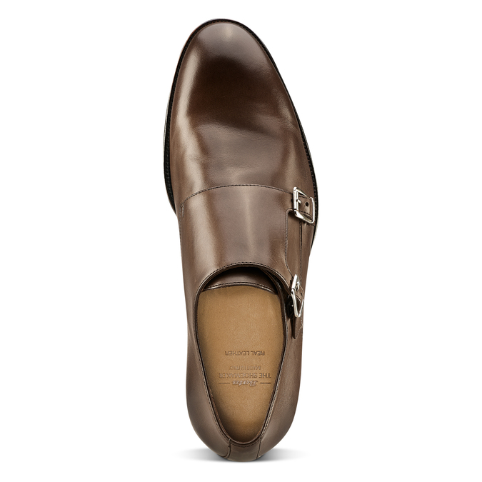 Men's shoes bata-the-shoemaker, Brun, 814-4130 - 15