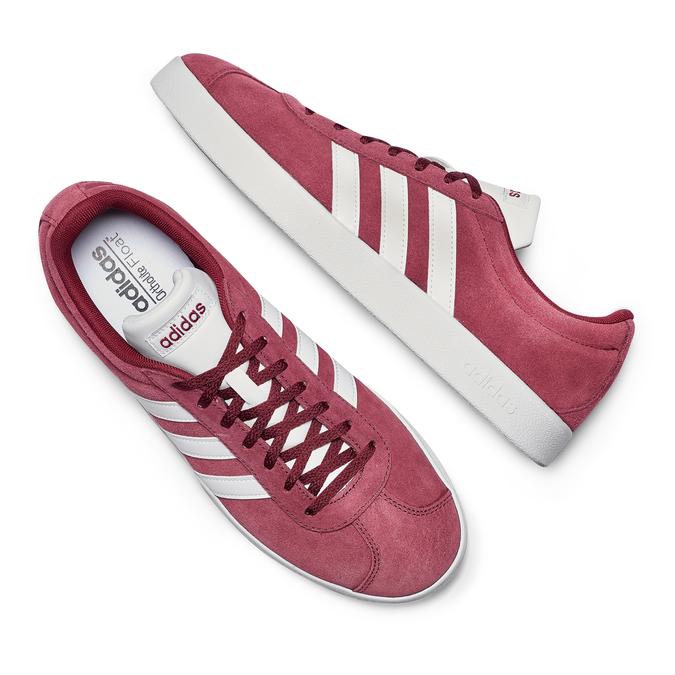 Men's shoes adidas, Rouge, 803-5379 - 26
