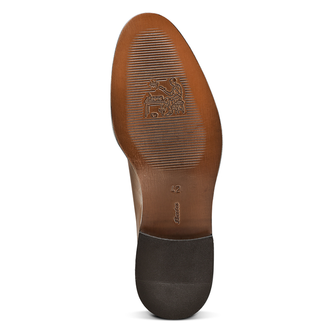 Men's shoes bata-the-shoemaker, Brun, 814-4130 - 17