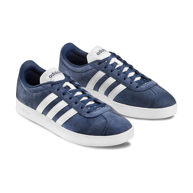 Men's shoes adidas, Violet, 803-9379 - 16
