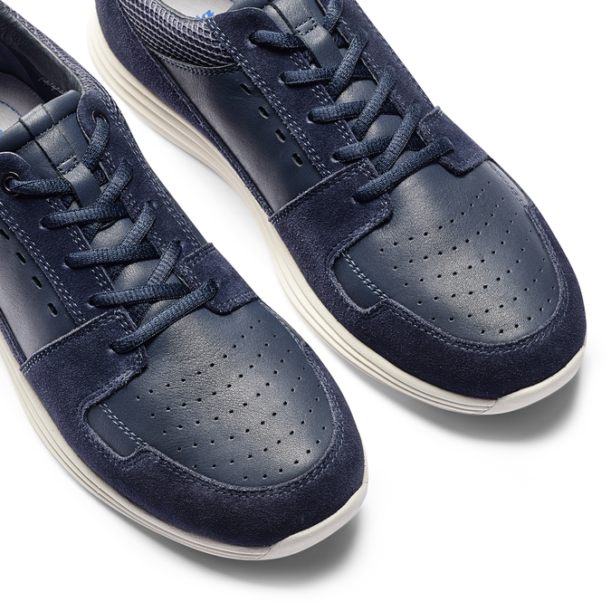 Men's shoes bata-light, Bleu, 844-9161 - 19