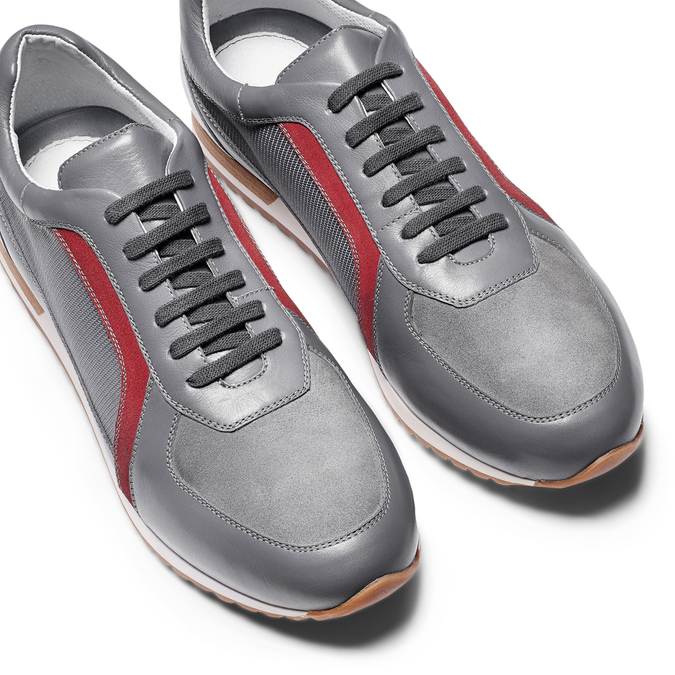 Men's shoes bata, Gris, 844-2142 - 26