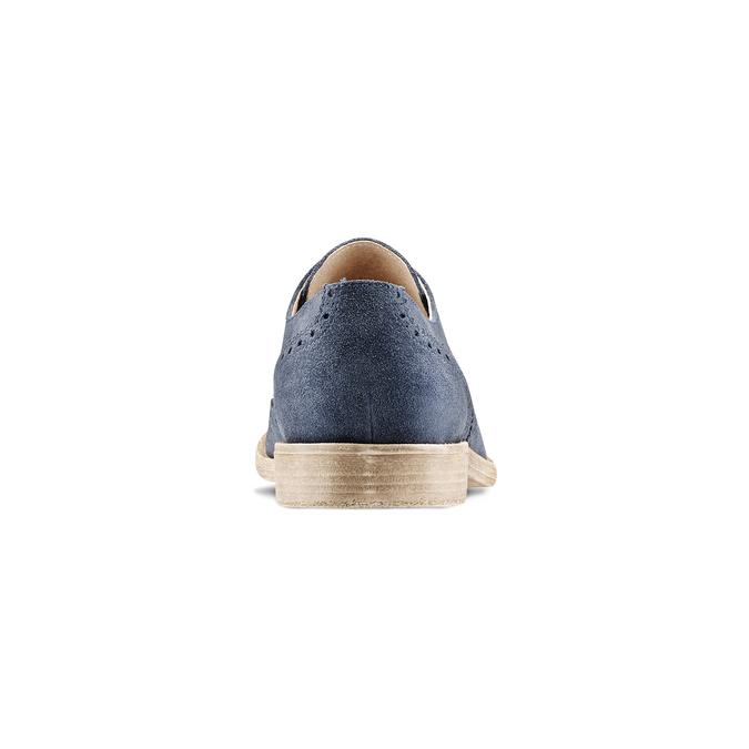 Men's shoes bata, Bleu, 823-9306 - 16
