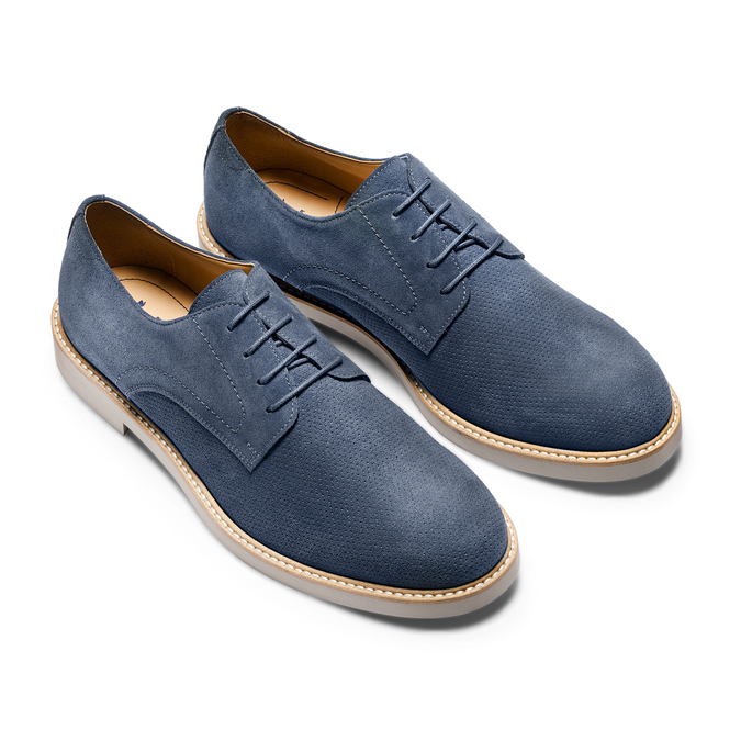 Men's shoes bata-light, Bleu, 823-9284 - 16