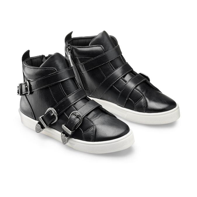 Women's shoes bata, Noir, 541-6193 - 16