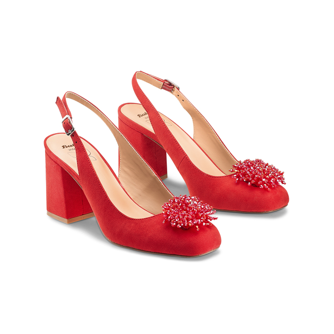 Women's shoes insolia, Rouge, 729-5216 - 16
