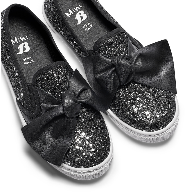 Childrens shoes mini-b, Noir, 329-6337 - 26