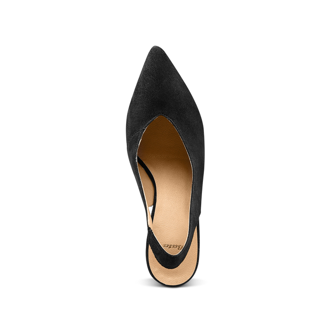 Women's shoes bata, Noir, 723-6248 - 17