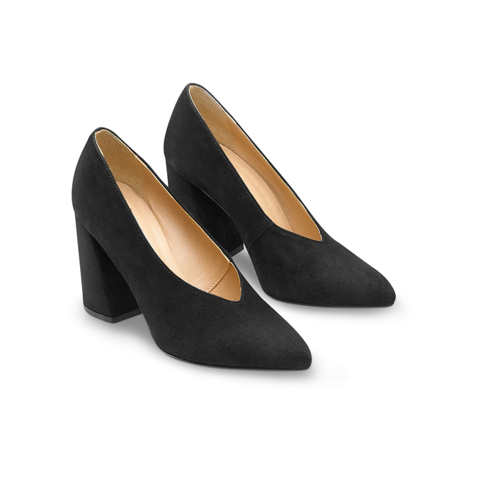 Women's shoes bata, Noir, 723-6239 - 16