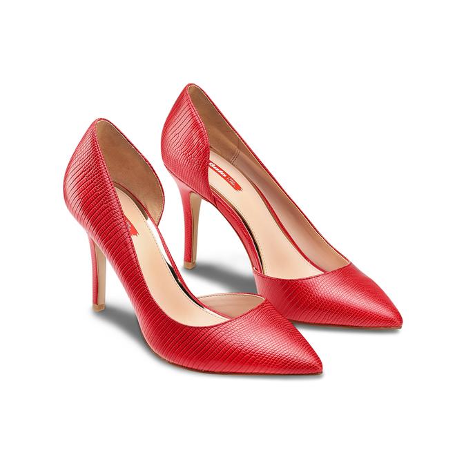 Women's shoes, Rouge, 721-5302 - 16