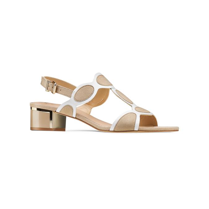 Women's shoes insolia, Jaune, 669-8297 - 13