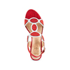 Women's shoes insolia, Rouge, 669-5297 - 17