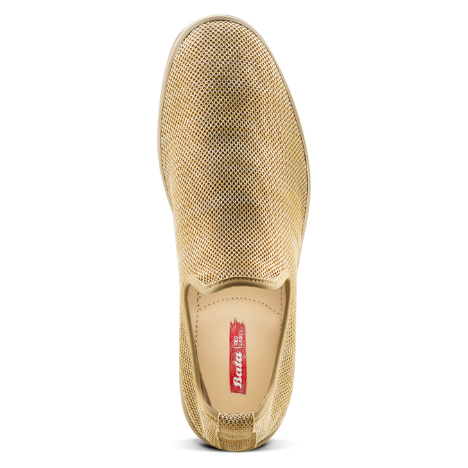 Men's shoes bata-rl, Jaune, 839-8144 - 17